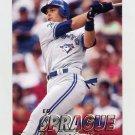1997 Fleer Baseball #249 Ed Sprague - Toronto Blue Jays