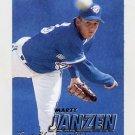 1997 Fleer Baseball #243 Marty Janzen - Toronto Blue Jays