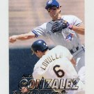 1997 Fleer Baseball #239 Alex Gonzalez - Toronto Blue Jays