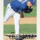 1997 Fleer Baseball #236 Tim Crabtree - Toronto Blue Jays