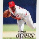 1997 Fleer Baseball #228 Darren Oliver - Texas Rangers