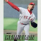 1997 Fleer Baseball #225 Mike Henneman - Texas Rangers