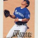 1997 Fleer Baseball #208 Brian Hunter - Seattle Mariners
