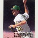 1997 Fleer Baseball #197 Bill Taylor - Oakland A's