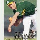 1997 Fleer Baseball #194 Mike Mohler - Oakland A's