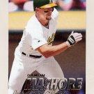 1997 Fleer Baseball #192 Damon Mashore - Oakland A's