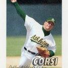 1997 Fleer Baseball #188 Jim Corsi - Oakland A's