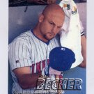 1997 Fleer Baseball #143 Rich Becker - Minnesota Twins