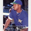 1997 Fleer Baseball #136 Marc Newfield - Milwaukee Brewers