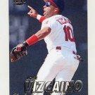1997 Fleer Baseball #091 Jose Vizcaino - Cleveland Indians