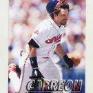 1997 Fleer Baseball #076 Mark Carreon - Cleveland Indians
