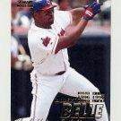 1997 Fleer Baseball #075 Albert Belle - Cleveland Indians