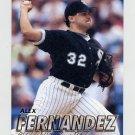 1997 Fleer Baseball #060 Alex Fernandez - Chicago White Sox