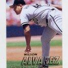 1997 Fleer Baseball #054 Wilson Alvarez - Chicago White Sox