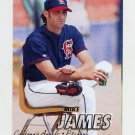 1997 Fleer Baseball #047 Mike James - California Angels