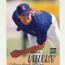 1997 Fleer Baseball #043 Chuck Finley - California Angels