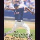 1997 Fleer Baseball #023 Tom Gordon - Boston Red Sox