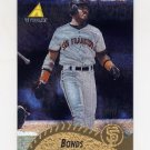 1995 Pinnacle Baseball Museum Collection #272 Barry Bonds - San Francisco Giants