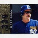 1996 Pinnacle FOIL Baseball #334 Wade Boggs 300 - New York Yankees