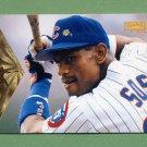 1996 Pinnacle Baseball #092 Sammy Sosa - Chicago Cubs