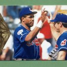 1996 Pinnacle Baseball #087 Dave Winfield - Cleveland Indians