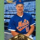 1996 Pinnacle Baseball #041 Jeff Kent - New York Mets