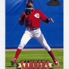 1997 New Pinnacle Baseball #125 Deion Sanders - Cincinnati Reds