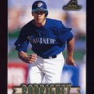 1997 New Pinnacle Baseball #081 Alex Rodriguez - Seattle Mariners