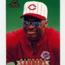 1997 New Pinnacle Baseball #022 Reggie Sanders - Cincinnati Reds