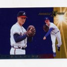 1997 Pinnacle X-Press Men Of Summer Baseball #109 Tom Glavine - Atlanta Braves