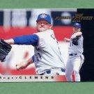1997 Pinnacle X-Press Baseball #054 Roger Clemens - Toronto Blue Jays
