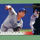 1997 Pinnacle X-Press Baseball #010 Hideo Nomo - Los Angeles Dodgers