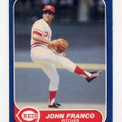 1986 Fleer Baseball #178 John Franco - Cincinnati Reds
