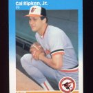 1987 Fleer Baseball #478 Cal Ripken - Baltimore Orioles