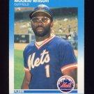 1987 Fleer Baseball #025 Mookie Wilson - New York Mets