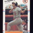 1988 Fleer Baseball #570 Cal Ripken - Baltimore Orioles