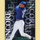 1997 Fleer Baseball #701 Ken Griffey Jr. ENC - Seattle Mariners