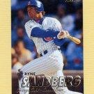 1997 Fleer Baseball #282 Ryne Sandberg - Chicago Cubs
