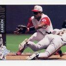 1994 Upper Deck Electric Diamond Baseball #385 Barry Larkin - Cincinnati Reds