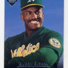 1995 Upper Deck Electric Diamond Baseball #280 Ruben Sierra - Oakland A's