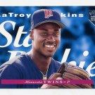 1995 Upper Deck Electric Diamond Baseball #223 LaTroy Hawkins - Minnesota Twins