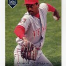 1995 Upper Deck Electric Diamond Baseball #153 Darren Oliver - Texas Rangers