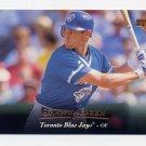 1995 Upper Deck Baseball #289 Shawn Green - Toronto Blue Jays