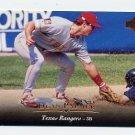 1995 Upper Deck Baseball #154 Dean Palmer - Texas Rangers