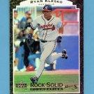 1997 Upper Deck Baseball Rock Solid Foundation #RS07 Ryan Klesko - Atlanta Braves