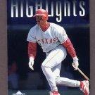 1997 Upper Deck Baseball #219 Juan Gonzalez SH CL - Texas Rangers
