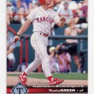 1997 Upper Deck Baseball #180 Rusty Greer - Texas Rangers