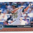 1997 Upper Deck Baseball #130 Geronimo Berroa - Oakland A's