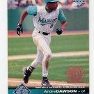 1997 Upper Deck Baseball #080 Andre Dawson - Florida Marlins