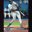 1997 Upper Deck Baseball #040 Frank Thomas - Chicago White Sox
